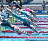 الفرنسية كلوفيل تتصدر منافسات السباحة في بطولة العالم للخماسي الحديث