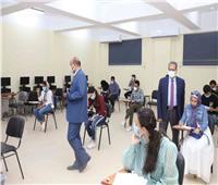 بدء امتحانات فرع الجامعة الإلكترونية بجنوب الوادي