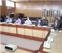 مناقشة القواعد المنظمة لآليات عمل البرامج الجديدة بجامعة جنوب الوادي