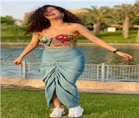 مايان السيد تتصدر محركات البحث بسبب إطلالتها بحفل زفاف محمد فراج | صور