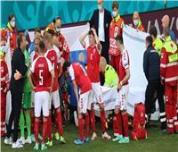 اليويفا: استقرار حالة أيركسن لاعب الدنمارك بعد نقله إلى المستشفى