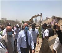 إزالة ٥٥ عشة ومنزلًا بتوفيقية المطرية العشوائية وتسكين ٤٥ أسرة ببدر