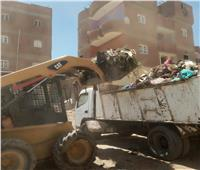 رفع 10 آلاف طن قمامة وإزالة 931 حالة إشغالات متنوعة بالفيوم