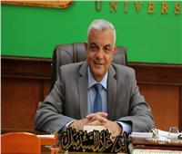 رئيس جامعة المنوفية يهنىء المحافظة بعيدها القومي