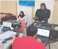 مأموريات «الأحوال المدنية» تستخرج «الرقم القومي» للسيدات والمرضى   صور