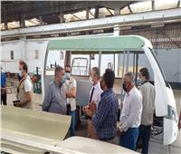 وزير قطاع الأعمال يتفقد المنتجات الجديدة لـ«الهندسية للسيارات»