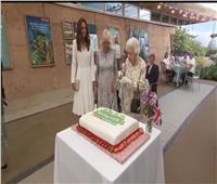 كيت ميدلتون تتألق بفستان بـ 3 ألاف إسترليني في حفل استقبال قمة السبع
