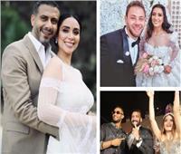 شاهد جنان النجوم في زفافهم لـ«ركوب التريند» | صور