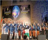 فلسطين تشارك في المهرجان الدولي للفنون التراثيةبالقاهرة  صور