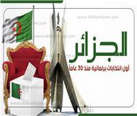 إنفوجراف| الجزائر.. تفاصيل أول انتخابات برلمانية منذ ٣٠ عامًا