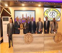 رئيس جامعة الأزهر يستقبل مدير منظمة QS لتصنيف الجامعات العالمية