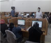 بدء اختبارات الفصل الدراسي الثاني بكلية الصيدلة جامعة حلوان الكترونيا