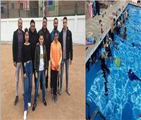 مركز شباب بالمنوفية يشارك في بطولة القطاعات لسباحة الزعانف