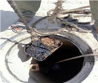 رئيس مياه القناة: حملة مكبرة لتطهير شبكات الصرف الصحي بالقنطرة شرق
