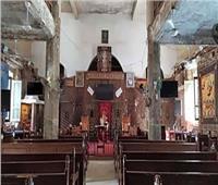 الكنيسة تحي ذكري استشهاد القديس أبسخيرون الجندى القلينى