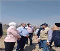 محافظ القاهرة يتفقد إزالة المناطق العشوائية بمصر القديمة