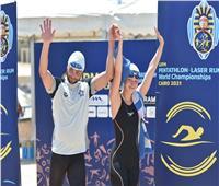 ليتوانيا تتصدر منافسات السباحة في نهائي الزوجي المختلط ببطولة العالم