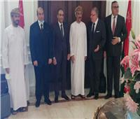سفير سلطنة عُمان بالقاهرة يبحث مجالات الاستثمار المشترك مع مستثمرين مصريين
