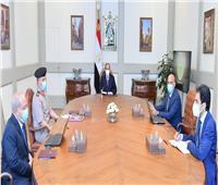 الرئيس يستعرض مخطط إنشاء أول مصنع لدباغة الجلود في الشرق الأوسط وأفريقيا