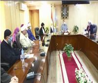 محافظ أسيوط يترأس ندوة المجلس القومي للمرأة «احميها من الختان»