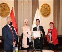 «التعليم»: تكرم الطلاب الفائزين فى مسابقة «كلنا مصريون».. صور