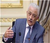 وزير التعليم : الامتحان التجريبي الثالث سيؤديه الطلاب «تابلت» و«بابل شيت»
