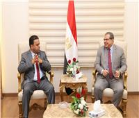 وزير القوى العاملة يستقبل نظيره الليبي لبحث آليات جذب العمالة المصرية