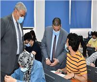 جامعة القناة: تصحيح 38 ألف ورقة امتحانية بمركز القياس والتقويم