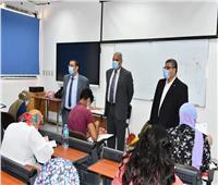 رئيس جامعة القناة:لجان خاصة لطلاب الدمج والمكفوفين بكلية الآداب
