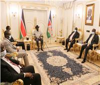 رئيس جنوب السودان يلتقي وفد الحكومة السودانية لمفاوضات السلام بجوبا
