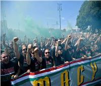 لأول مرة  ملعب مواجهة البرتغال والمجر بحضور جماهير كامل.. صور