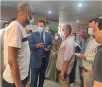 مرور مفاجئ لوكيل وزارة الصحة بالمنوفية علي المستشفيات