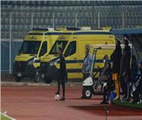 بعد واقعة إريكسن.. تعرف على إمكانيات سيارات إسعاف الملاعب المصرية| فيديو