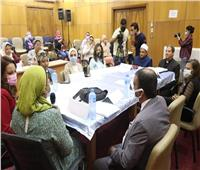 نائب محافظ الجيزة تشارك في اللقاء التشاوري الخاص بختان الإناث