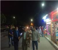 سكرتير عام محافظة الإسماعيلية يترأس حملة لإعادة الانضباط للشارع