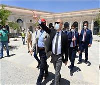 وزير الإسكان يتفقد دار الأوبرا الجديدة ومدينة الفنون بالعاصمة الإدارية