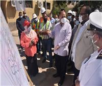 محافظ أسيوط يفتتح تطوير محطة صرف صحي عرب المدابغ بتكلفة 624 مليون جنيه