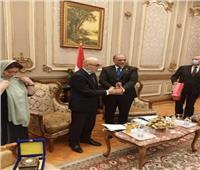 خلال استقباله وفد أوزبكستاني.. القصبي يطالب بوضع مفهوم دقيق لكلمة «حقوق الإنسان»