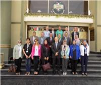 ختام فعاليات الدورات التدريبية لمكافحة الفساد لأعضاء هيئة التدريس بجامعة حلوان