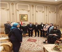 رئيس لجنة تضامن النواب يستقبل  وفد أوزبكستاني لحقوق الإنسان