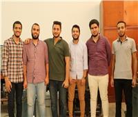 فوز هندسة أسيوط  بالمركز الأول في مسابقة جامعة أبوظبي