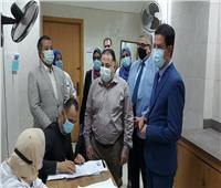 تطعيم 1500 من «هيئة التدريس والعاملين في جامعة بنها» بلقاح كورونا