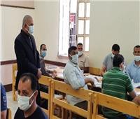 وكيل «تعليم دمياط» يتفقد أعمال المراجعة ورصد الدرجات بكنترول الشهادة الإعدادية