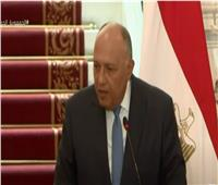سامح شكري: ناقشت مع وزير خارجية لوكسمبورج تطورات أزمة سد النهضة | فيديو