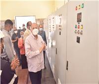 محافظ أسيوط يفتتح أعمال الإحلال والتجديد لمشروع محطة درنكة بتكلفة 18 مليون جنيه
