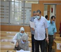 وسط إجراءات إحترازية.. تواصل امتحانات الفصل الدراسي الثاني بجامعة كفر الشيخ