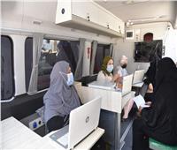 سيارة متنقلة لتقديم الخدمات الحكوميةللمواطنين في مطروح