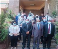 صحة المنوفية: جهود مكثفة لتطعيم العاملين بإدارة جامعة المنوفية بلقاح كورونا