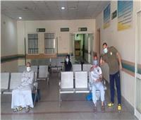 قنا .. المتعافين من كورونا بمستشفى قفط بلغ 410 حالات