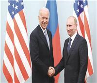 قمة روسية أمريكية.. بوتين وبايدن يبدآن محادثات موسعة